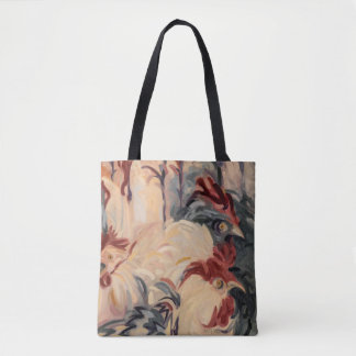 Panic in the Henhouse Tote Bag