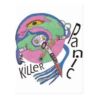Panic killer postcard