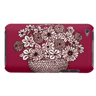 Panier des fleurs coques barely there iPod