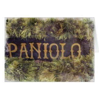 Paniolo with Lei Card