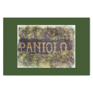 Paniolo with Lei Tissue Paper