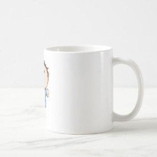 Pank Classic White Coffee Mug