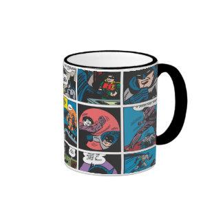Panneau comique 5x5 de Batman Mug Ringer