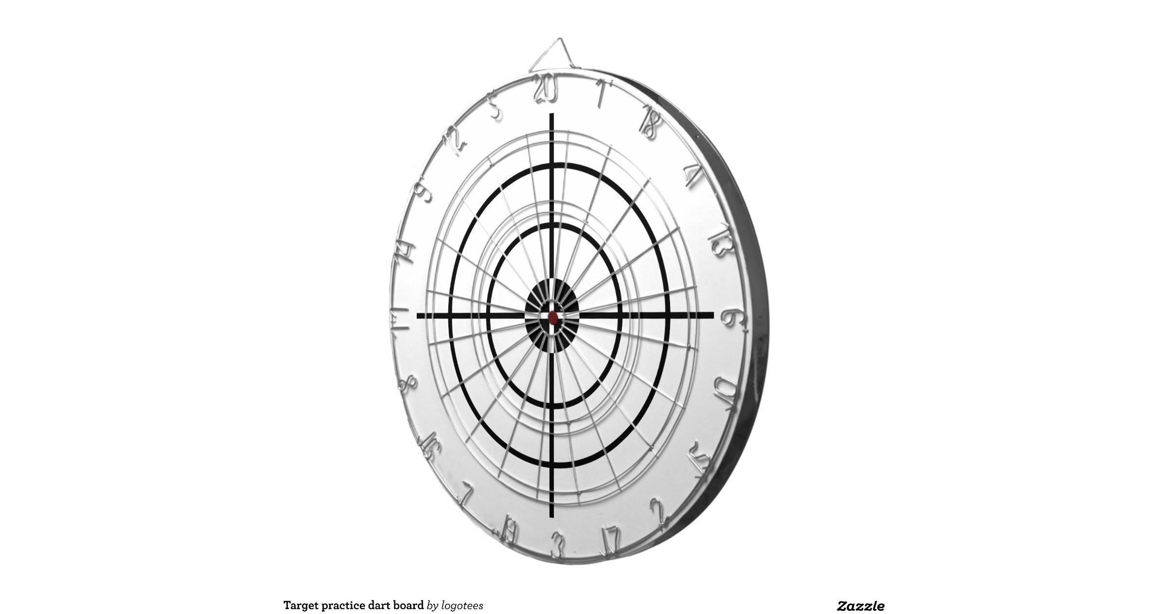 Panneau de dard de pratique en mati re de cible jeu de fl chettes zazzle - En matiere de synonyme ...