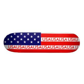 panneau de drapeau skateboards personnalisables