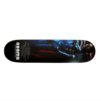 PANNEAU DE PATIN D'OBAMA SKATEBOARD