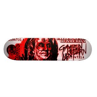 Panneau sanglant d'argent de héros de Ben Skateboard 19,7 Cm