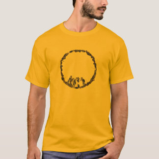 Panoply - Ancient Greek hoplites post battle T-Shirt