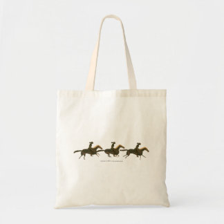 Panoply - Galloping Ancient Horses with Riders Tote Bag