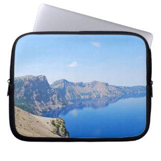 Panorama Crater Lake Laptop Sleeve