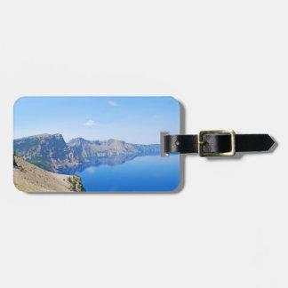 Panorama Crater Lake Luggage Tag