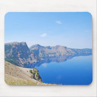 Panorama Crater Lake Mouse Pad