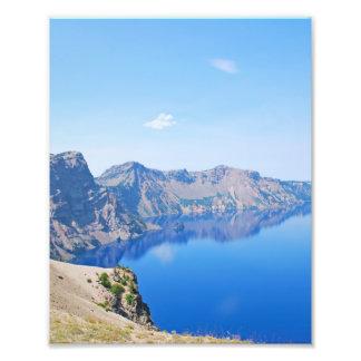 Panorama Crater Lake Photo Print