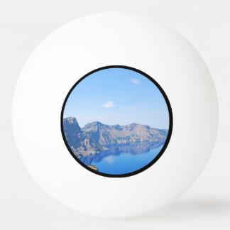 Panorama Crater Lake Ping-Pong Ball
