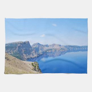 Panorama Crater Lake Towels