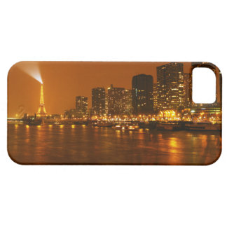 Panorama d'horizon de nuit de Pont Mirabeau Paris Coques Case-Mate iPhone 5