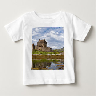 Panorama Eilean Donan Castle viewed from south Baby T-Shirt
