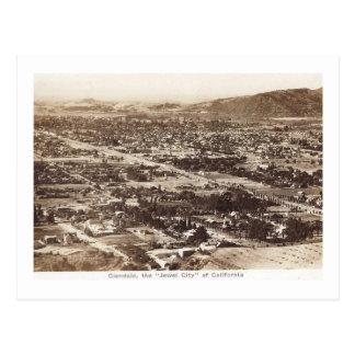 Panorama, Glendale, California Vintage Postcard