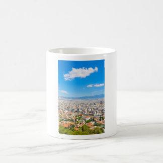 Panorama of Athens, Greece Coffee Mug