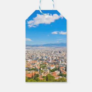 Panorama of Athens, Greece Gift Tags