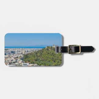 Panorama of Athens, Greece Luggage Tag