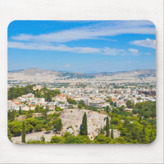 Panorama of Athens, Greece Mouse Pad