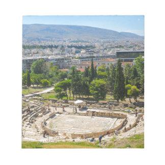 Panorama of Athens, Greece Notepad