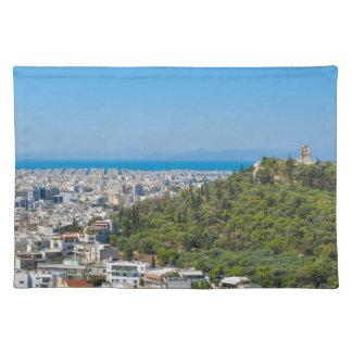 Panorama of Athens, Greece Placemat