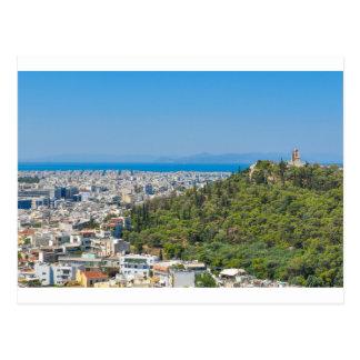Panorama of Athens, Greece Postcard