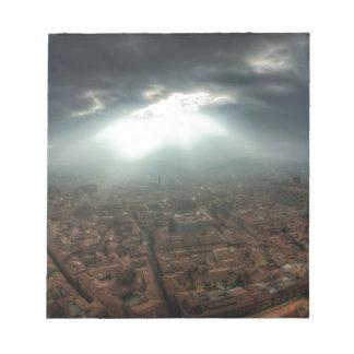 Panorama of Florence Notepads