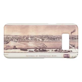 Panorama of Minneapolis, Minnesota (1873) Case-Mate Samsung Galaxy S8 Case