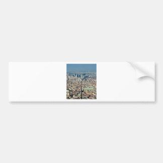 Panorama of Naples Bumper Sticker