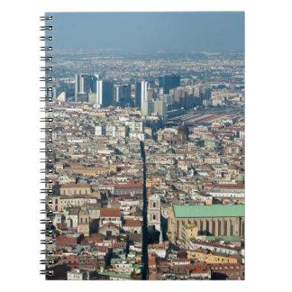 Panorama of Naples Notebook