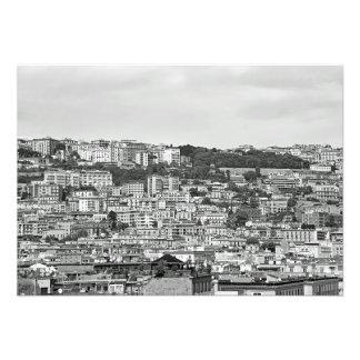 Panorama of Naples Photo Print
