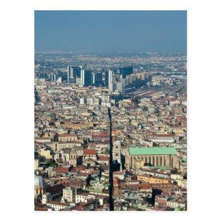 Panorama of Naples Postcard