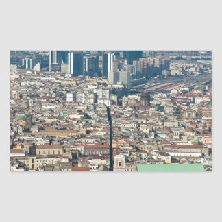 Panorama of Naples Sticker