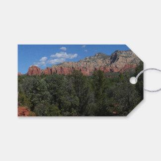 Panorama of Red Rocks in Sedona Arizona Gift Tags