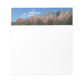 Panorama of Red Rocks in Sedona Arizona Notepad