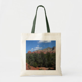 Panorama of Red Rocks in Sedona Arizona Tote Bag