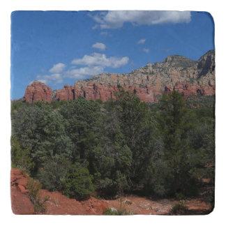 Panorama of Red Rocks in Sedona Arizona Trivet