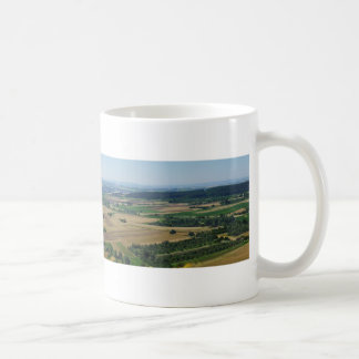 Panorama of Rural German Landscape Coffee Mug