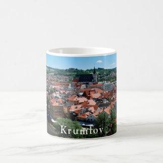 Panorama of the city of Cesky Krumlov. Coffee Mug