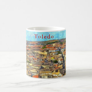 Panorama of Toledo. Coffee Mug