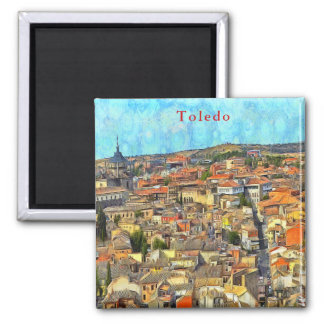 Panorama of Toledo. Magnet
