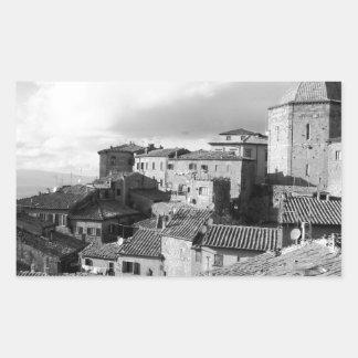 Panorama of Volterra village, province of Pisa