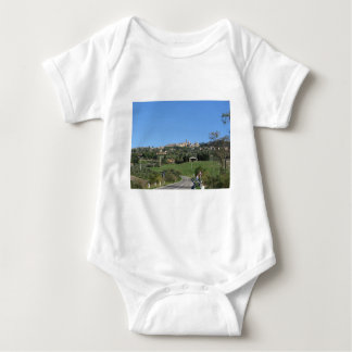 Panorama of Volterra village, province of Pisa Baby Bodysuit