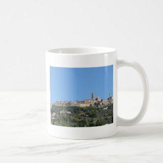 Panorama of Volterra village, province of Pisa Coffee Mug