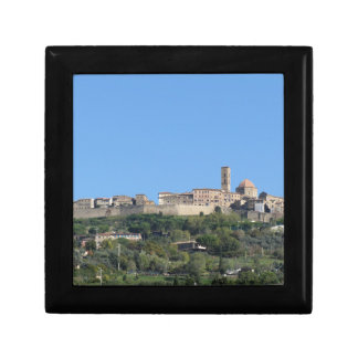 Panorama of Volterra village, province of Pisa Gift Box