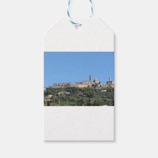 Panorama of Volterra village, province of Pisa Gift Tags