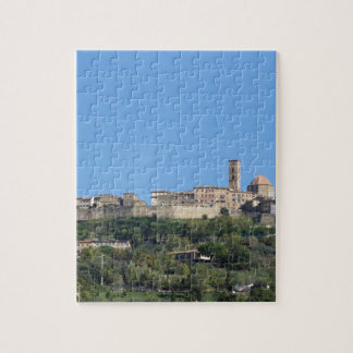 Panorama of Volterra village, province of Pisa Jigsaw Puzzle